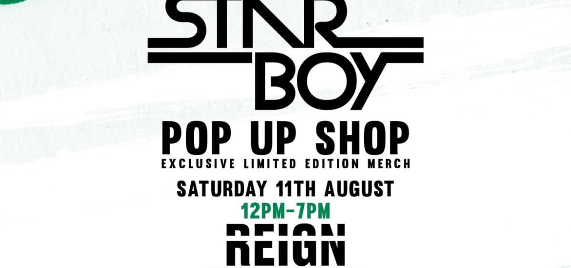 Star Boy Pop-Up Shop