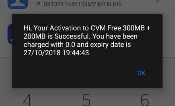 How To Get Free 500MB On MTN