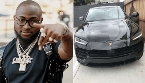 Davido Acquires New N72m 2019 Lamborghini Urus (Photos)