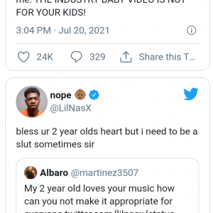 About Industry baby, lil Nas x